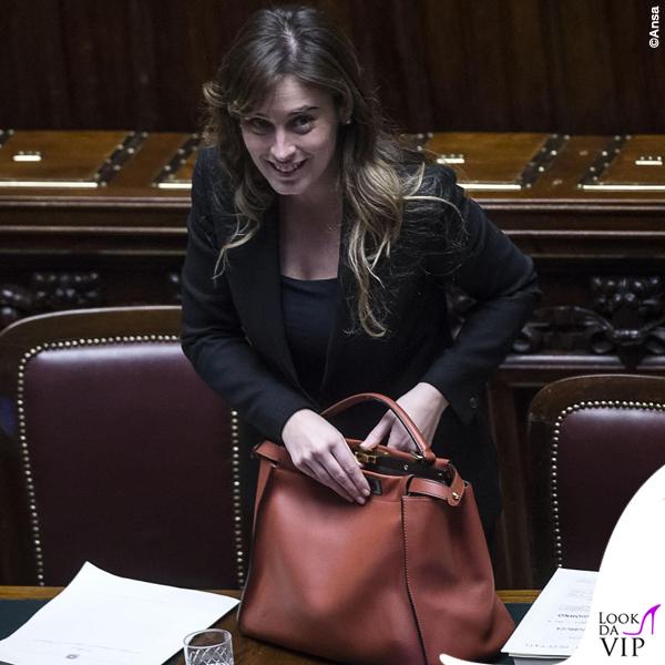 Maria-Elena-Boschi-borsa-Fendi-Peekaboo-5-Ansa